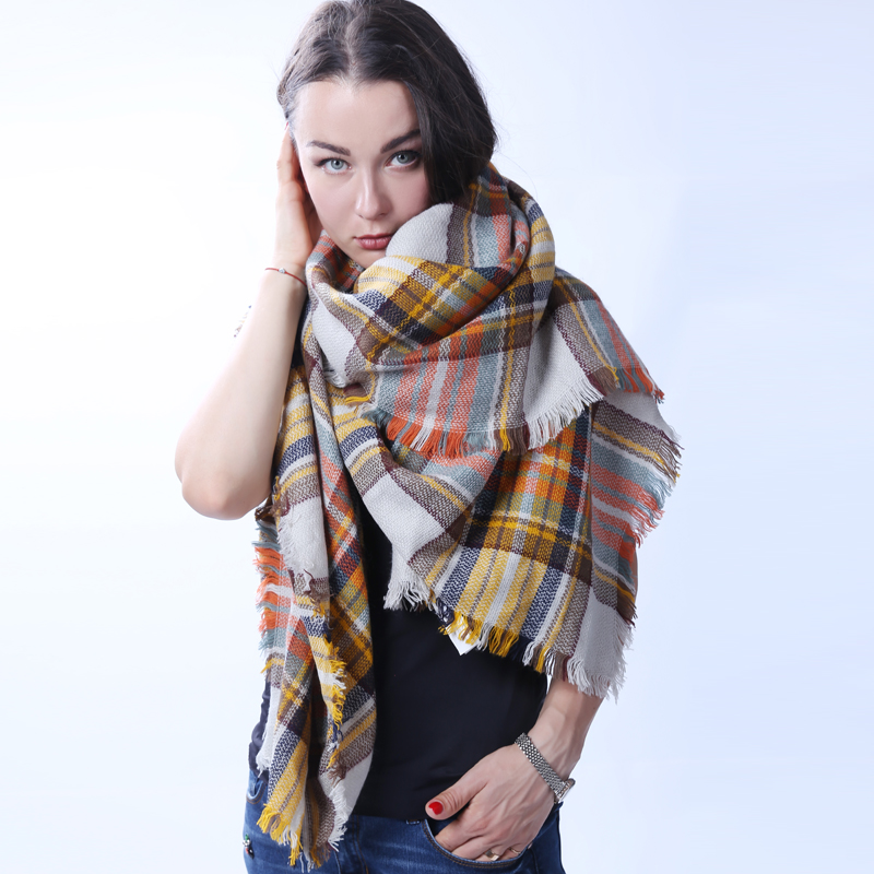 New Coming Elegant Warm Scarf For Winter